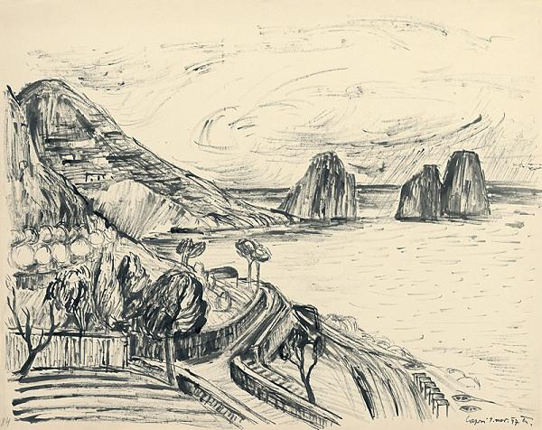 Matilda Čechová – Capri - cesta na pobreží