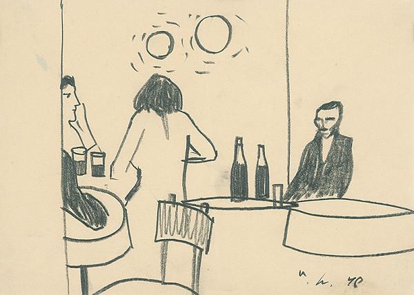 Vincent Hložník –  V kaviarni