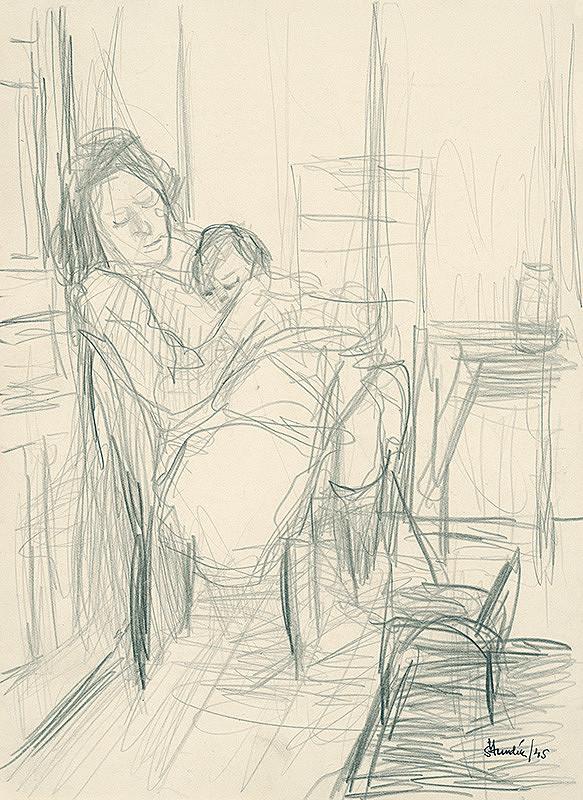 Jozef Šturdík – Matka s dieťaťom