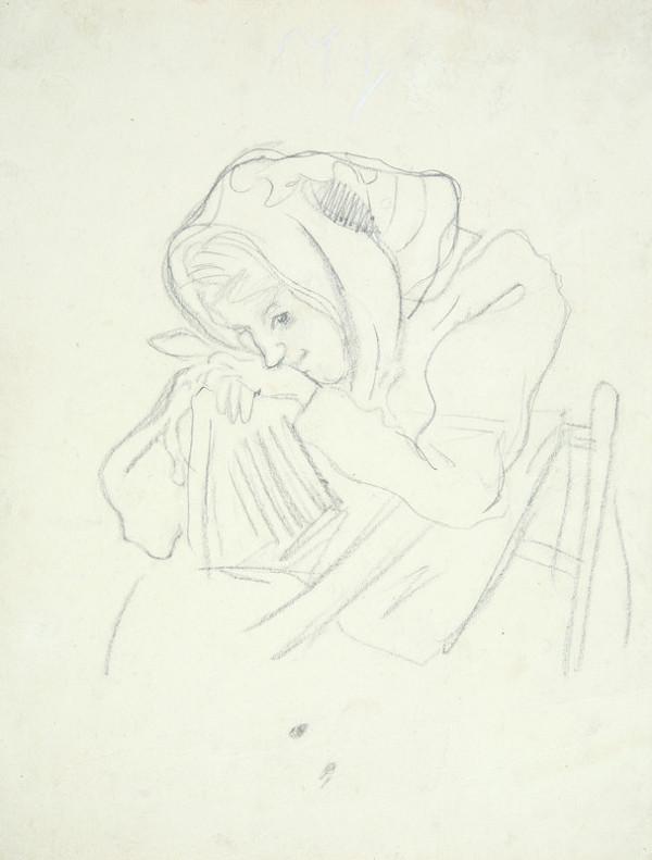 Arnold Peter Weisz-Kubínčan – Dievča na stoličke