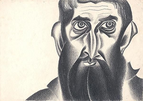 Milan Laluha - Autoportrét I.