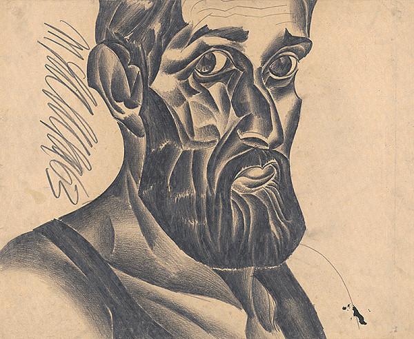 Milan Laluha - Autoportrét II.