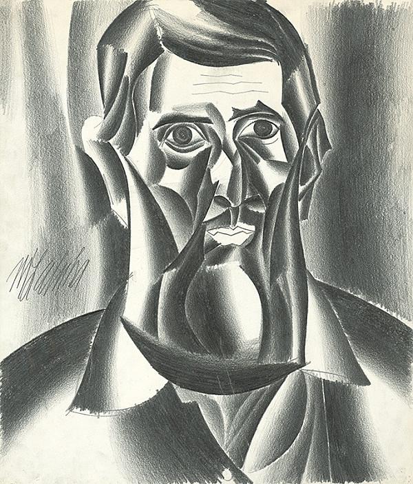 Milan Laluha – Autoportrét III.