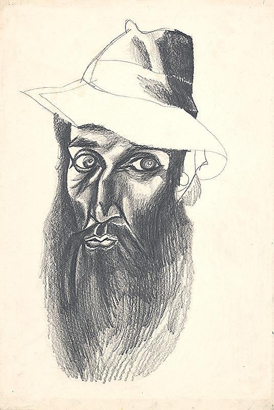 Milan Laluha – Autoportrét IV.