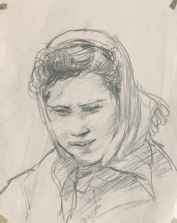 Ignác Kolčák – Žena v šatke