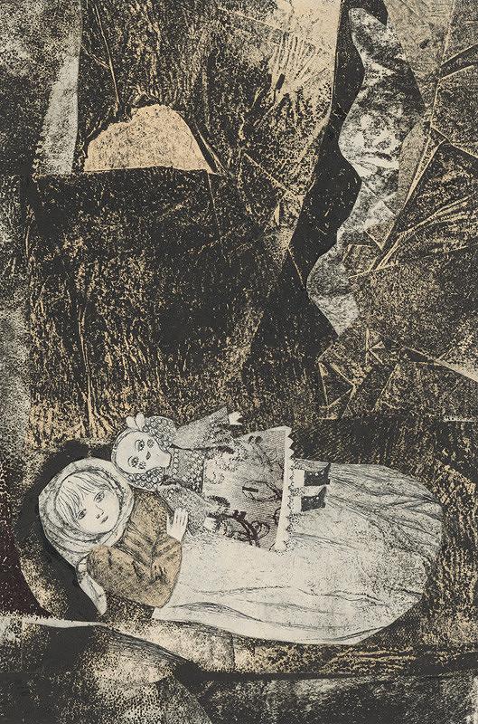 Běla Kolčáková – Marusia s bábikou