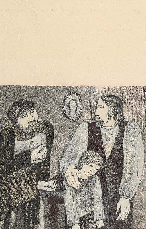 Běla Kolčáková – Tyburcij u Vasiovho otca