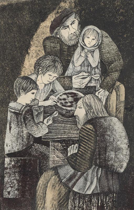 Běla Kolčáková – Obed v podzemí