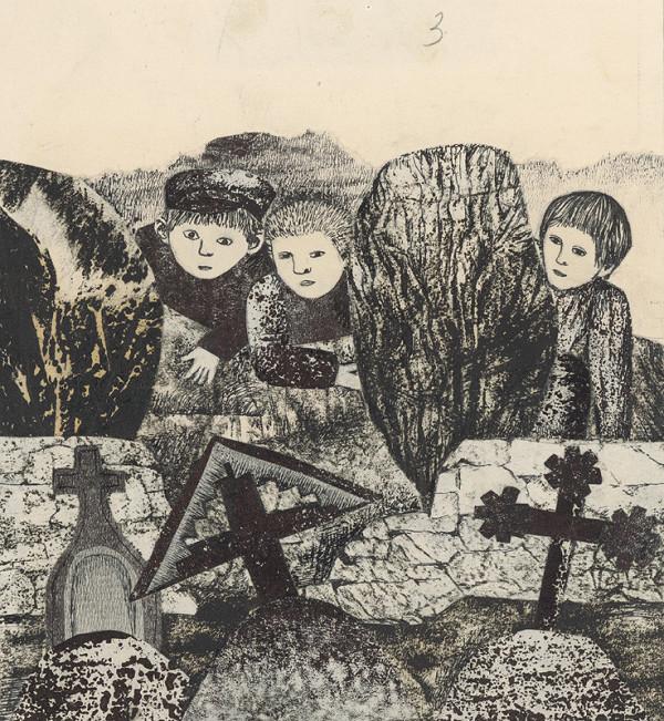 Běla Kolčáková – Na starom cintoríne