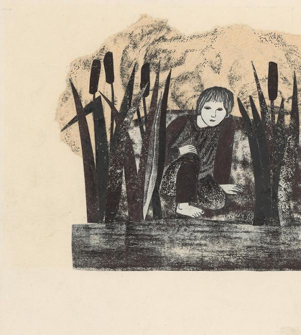Běla Kolčáková – Vasia pri rybníku