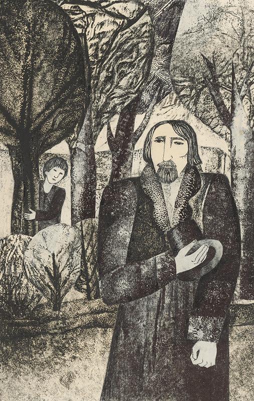 Běla Kolčáková – Vasia a jeho otec