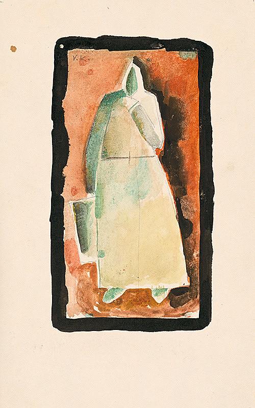 Vladimír Kompánek - Žena s putňou