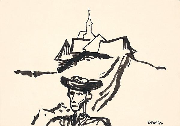Fero Kráľ – Kresba z Oravy XIV.