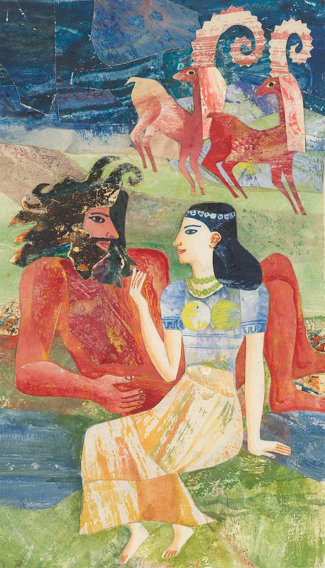 Běla Kolčáková - Enkidu a chrámová služobníčka