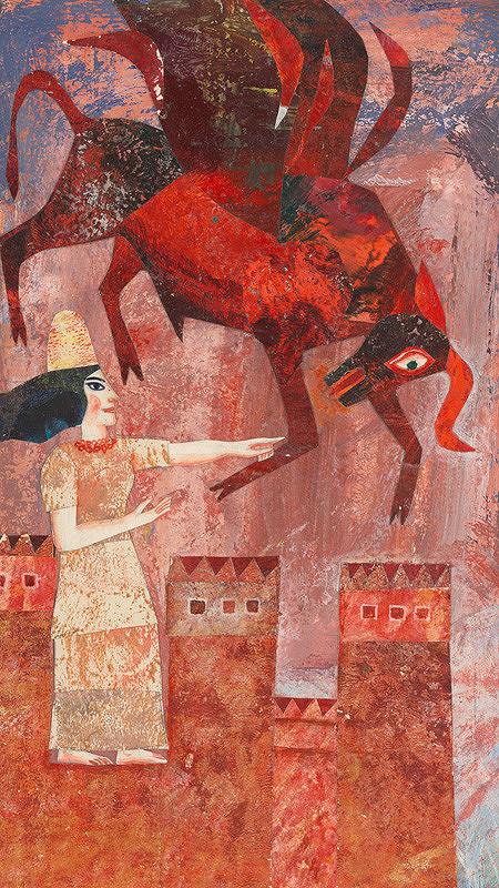 Běla Kolčáková - Ištar s nebeským býkom
