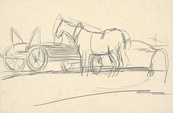 Ernest Zmeták – Kôň pri voze