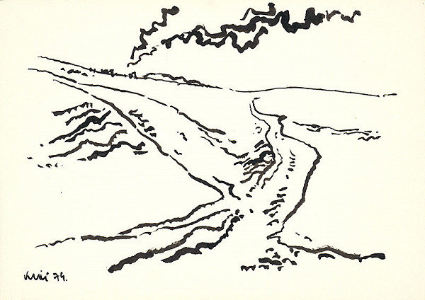 Fero Kráľ – Kresba z Oravy XX.