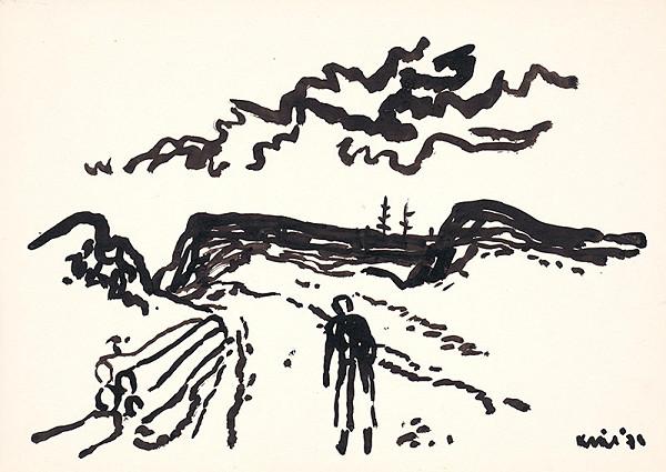 Fero Kráľ – Kresba z Oravy XXIV.