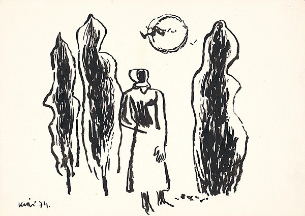 Fero Kráľ – Kresba z Oravy XXV.