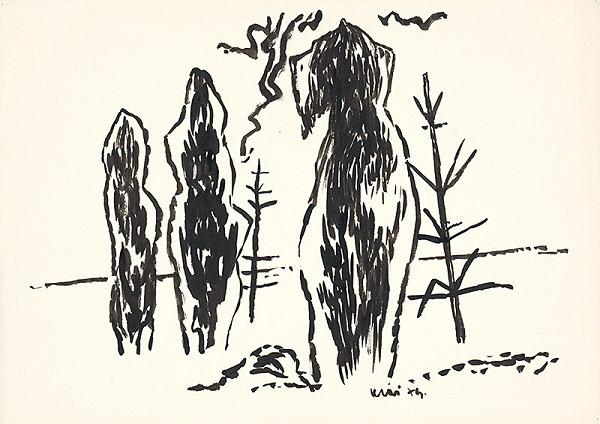 Fero Kráľ – Kresba z Oravy XXVII.