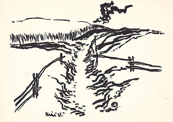 Fero Kráľ – Zuberec IV. Kresba z Oravy XXXV.