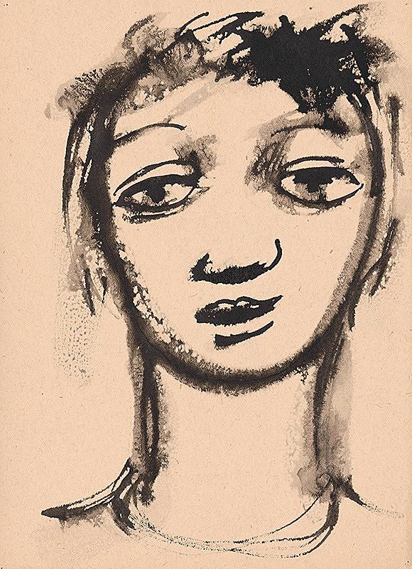 Ernest Špitz - Chlava chlapca