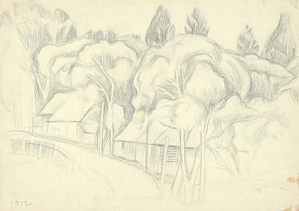 Ernest Zmeták – Štúdia stromov