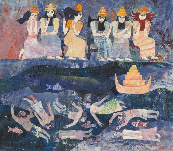 Běla Kolčáková - Potopa a bohovia