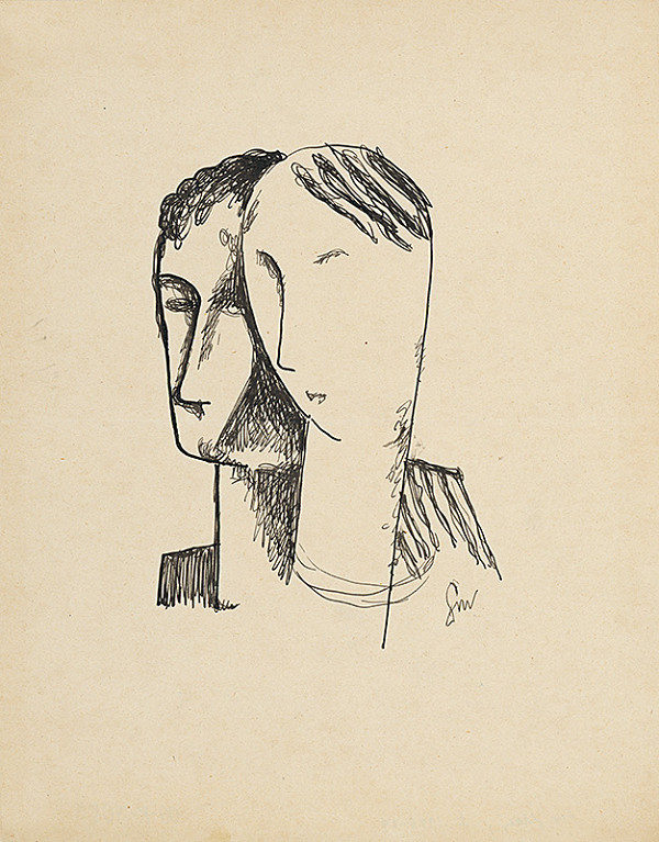 Mikuláš Galanda - Dve hlavy