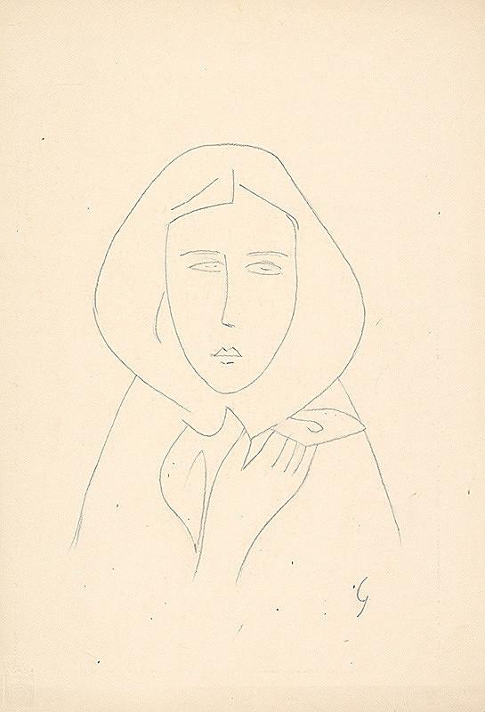 Mikuláš Galanda - Žena v šatke