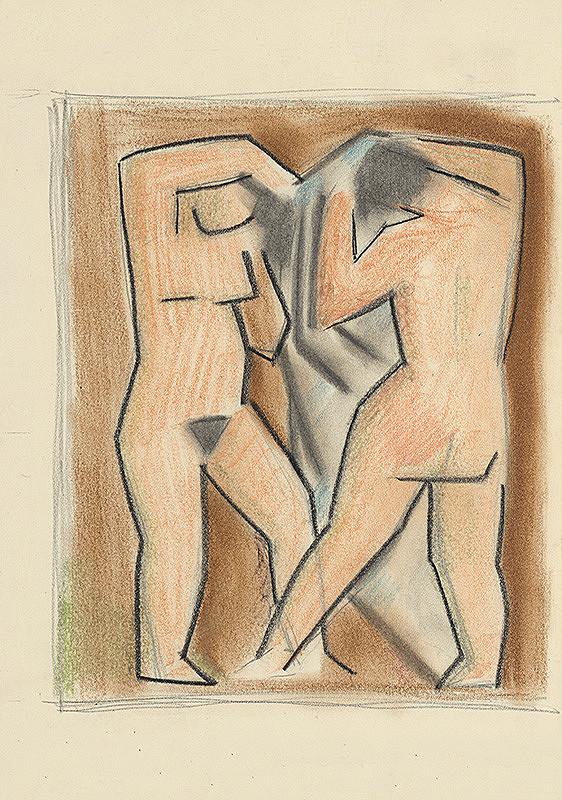 Mikuláš Galanda - Dve ženy po kúpeli