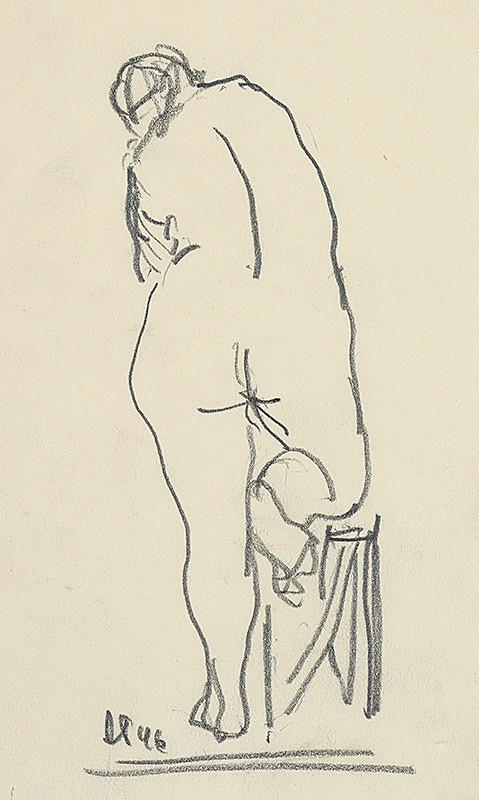 Rudolf Pribiš – Ženský akt