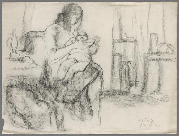 Vincent Hložník – Materstvo