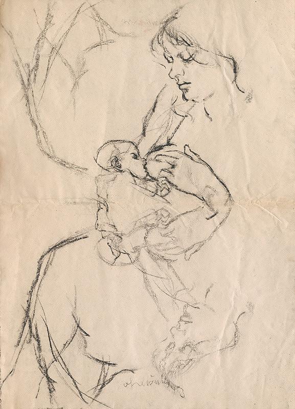 Vincent Hložník - Pri kojení