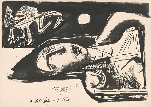 Vincent Hložník – Žena a dravec