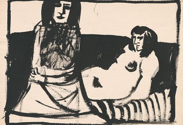 Vincent Hložník - Dve ženy