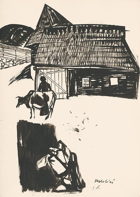 Vincent Hložník – Kresba z Oravy IV.