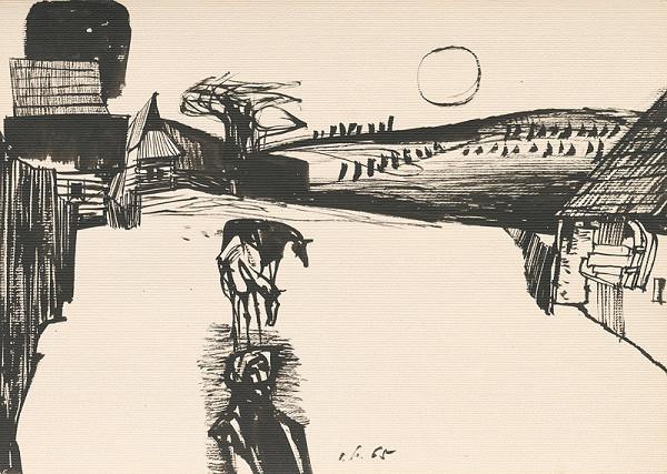 Vincent Hložník – Kresba z Oravy XI.
