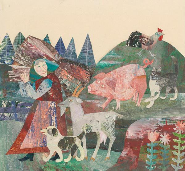 Běla Kolčáková – V chalúpke pod lesom