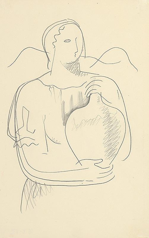 Mikuláš Galanda – Žena s džbánom