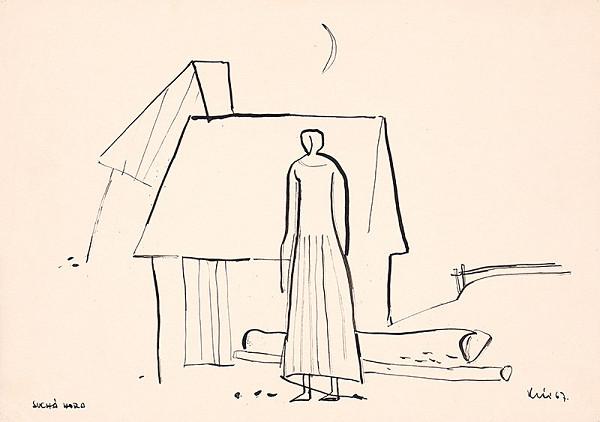 Fero Kráľ – Suchá Hora. Kresba z Oravy V.