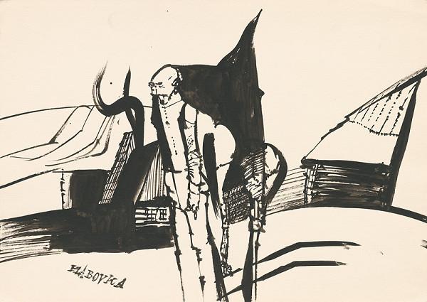 Vincent Hložník – Kresba z Oravy XXII.