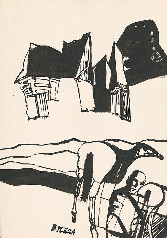 Vincent Hložník – Kresba z Oravy XXIII.