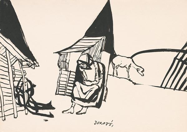 Vincent Hložník – Kresba z Oravy XXIV.