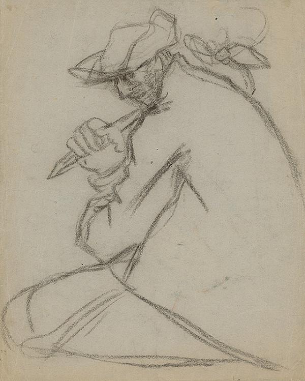 Arnold Peter Weisz-Kubínčan - Muž s palicou