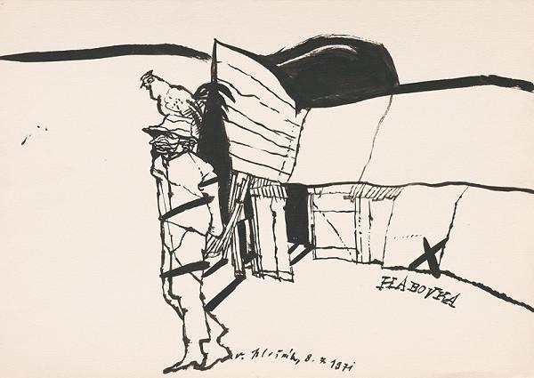 Vincent Hložník - Kresba z Oravy XXVII.