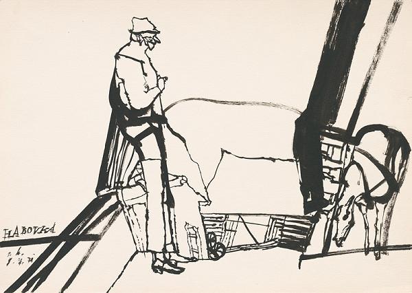 Vincent Hložník – Kresba z Oravy XXIX.