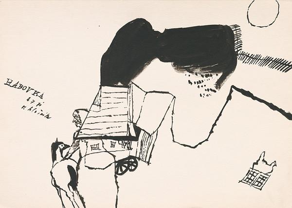 Vincent Hložník – Kresba z Oravy XXXIV.