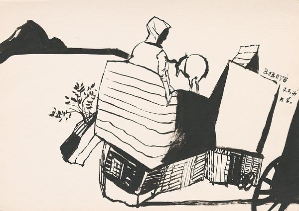 Vincent Hložník – Kresba z Oravy XXXV.