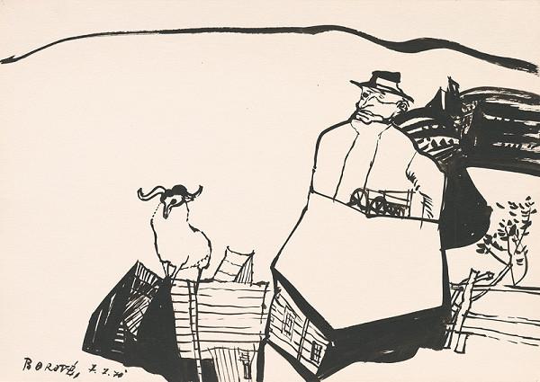 Vincent Hložník – Kresba z Oravy XLI.